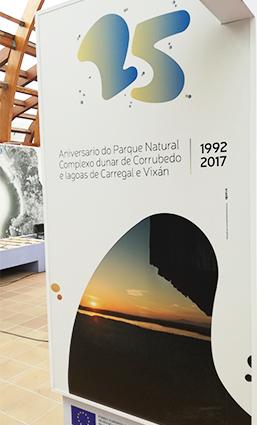 Logo 25 aniversario Parque Natural de Corrubedo